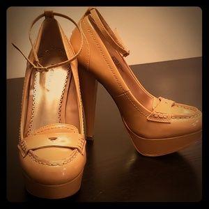 bebe 5.5 inch retro heels